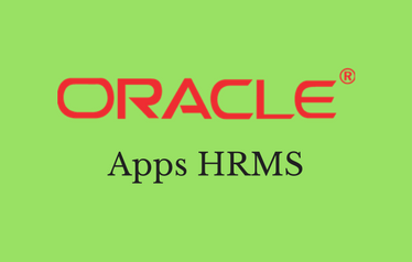 Oracle Apps HRMS Training